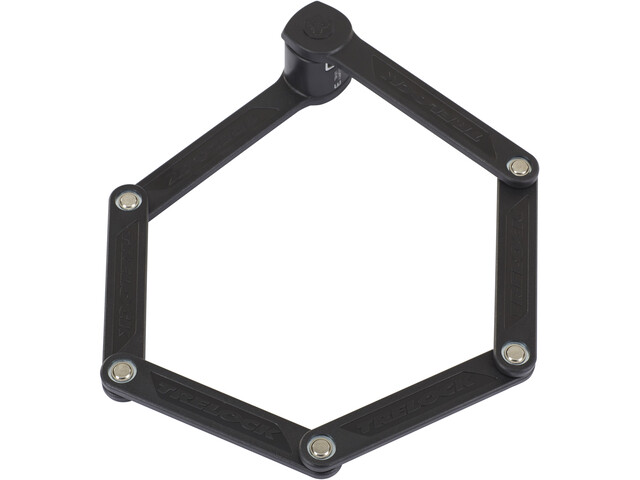 Trelock FS 300 Trigo Antivol pliant support inclus, black